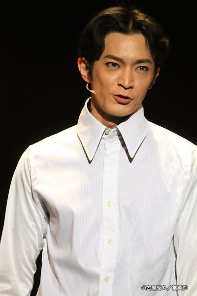 海帝高校生徒会長・堂山圭吾(どうやま・けいご)役の津田健次郎