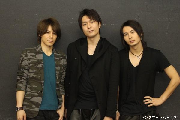 (写真左より)根本正勝さん、大山真志さん、藤田玲さん
