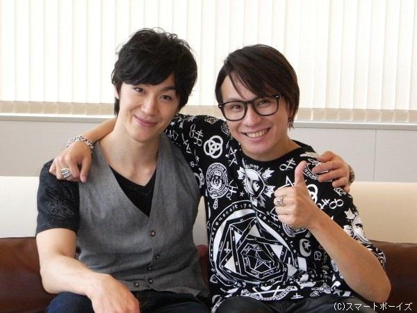 青柳塁斗さん(左)と風間由次郎さん