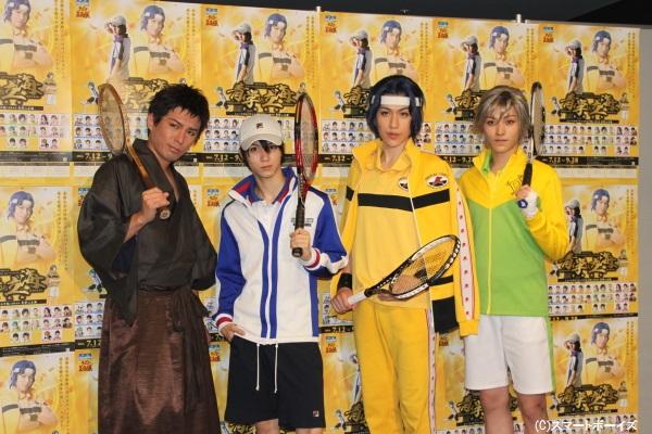 (写真左より)森山栄治さん、小越勇輝さん、神永圭佑さん、安西慎太郎さん