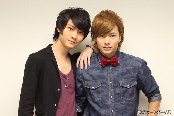 (左より)髙﨑俊吾さん、小澤廉さん