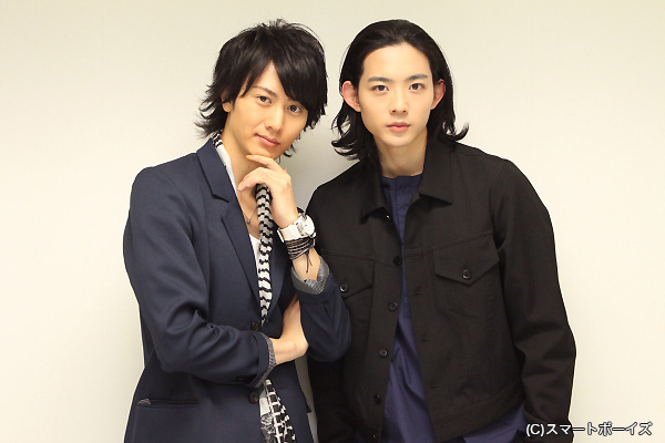 (左より)太田基裕さん、竜星涼さん