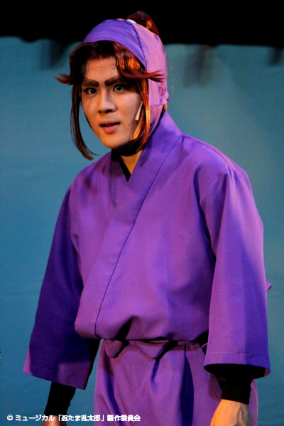 平滝夜叉丸(たいらのたきやしゃまる)役の樋口裕太さん