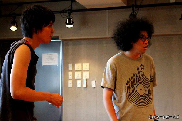 今井隆文さん(右)と大村学さんのインタビューは特集第2回でUP!