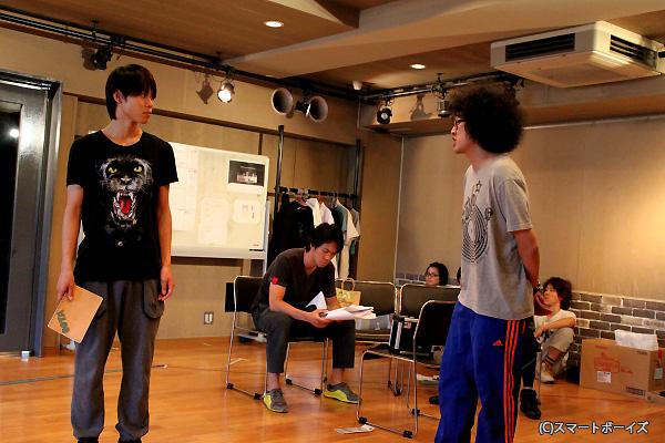 太田将熙さん(左)は新加入ながら重要キャラで出演!