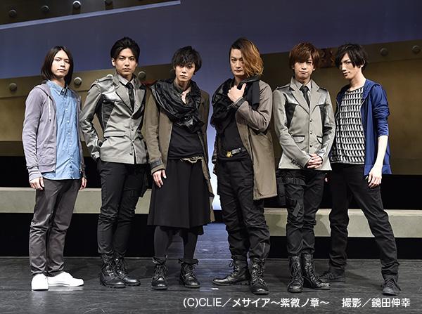 (写真左より)北村諒さん、宮崎秋人さん、玉城裕規さん、中村龍介さん、赤澤燈さん、廣瀬大介さん