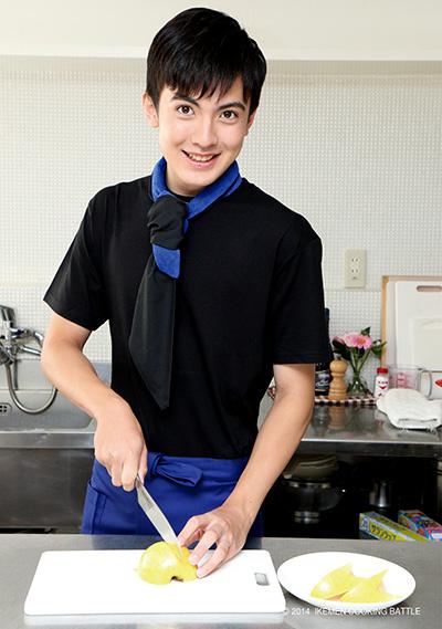 岡山智樹 弱冠17歳だが、趣味は料理。どんなメニューを披露してくれるか?