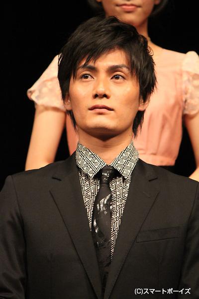 秘術の使い手である僧侶・天海役の加藤和樹さん。