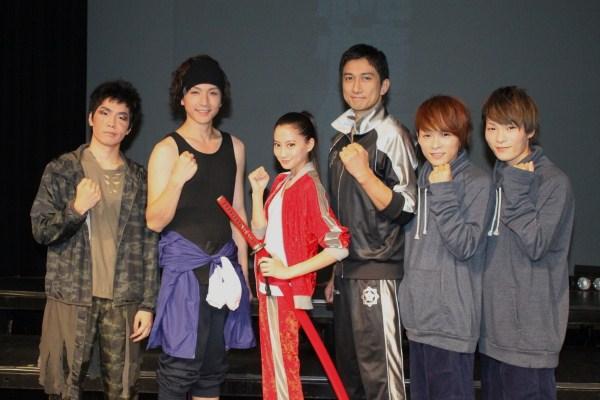 (写真左より)早乙女友貴さん、細貝圭さん、河北麻友子さん、神尾佑さん、広海深海さん