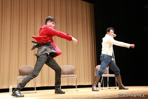 ファン唾涎! 三浦さん&渡さんによる「W赤射!」