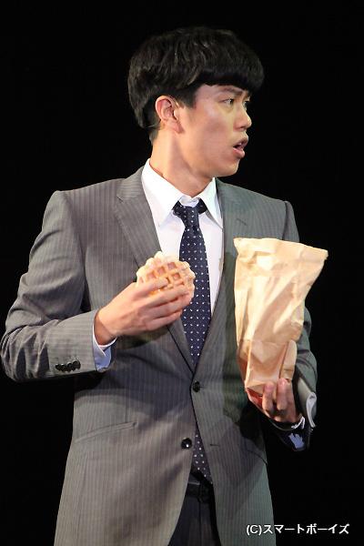 シャープ・ハンクス役の寺山武志さん