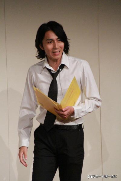 第2部MCの郷本さん。鈴木さんのプライベートを最も知りたがっていたのはこの方でした
