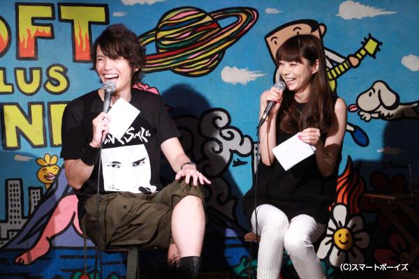 今年のSPゲストは芳賀優里亜さん。雅人と真理の共演が実現!