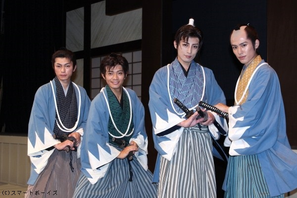 (写真左より)遠藤雄弥さん、和田正人さん、陳内将さん、堀井新太さん