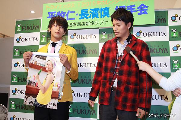 長濱さんのお気に入りカットは「バンダナ姿でのショット」。オレンジのヘルメットも似合うけどバンダナも超お似合い!