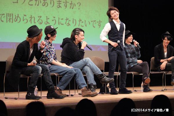 天然発言連発の染谷さんに、冷静な松田さんも思わず熱くなり立ち上がる一幕も!!