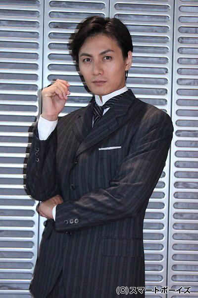 タイタニック号の設計士・アンドリュース役の加藤和樹さん