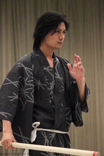 天海役の加藤和樹さん