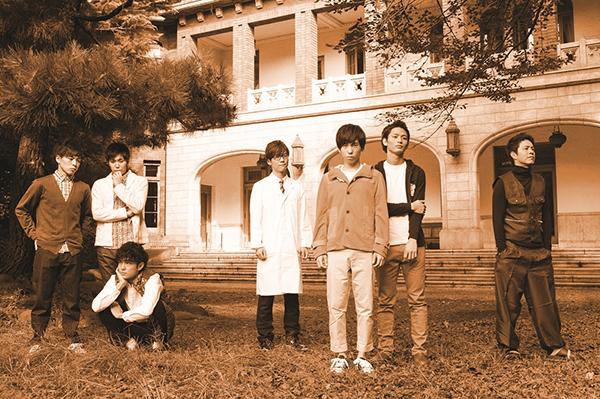 「GOODキャスト(後列左から)高岡裕貴、夏樹弘、一徹、左光哲/(前列左から)松岡佑季、大矢剛康、柏進」