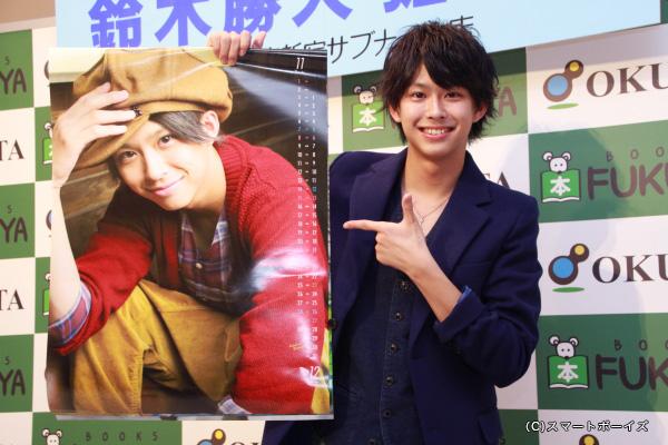 鈴木さんセレクトのお気に入りショット、帽子姿もお似合いです!