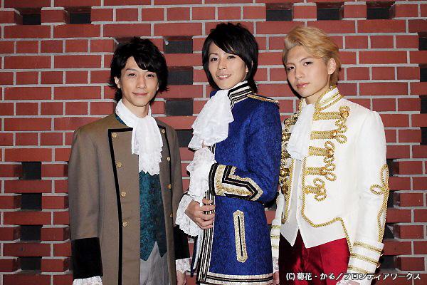 (写真左より)鈴木拡樹さん、廣瀬智紀さん、宮﨑秋人さん