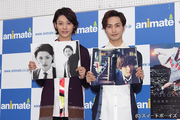 矢田さん曰く「この安西の表情が、普段見てる顔に一番近い印象」だそうです(笑)