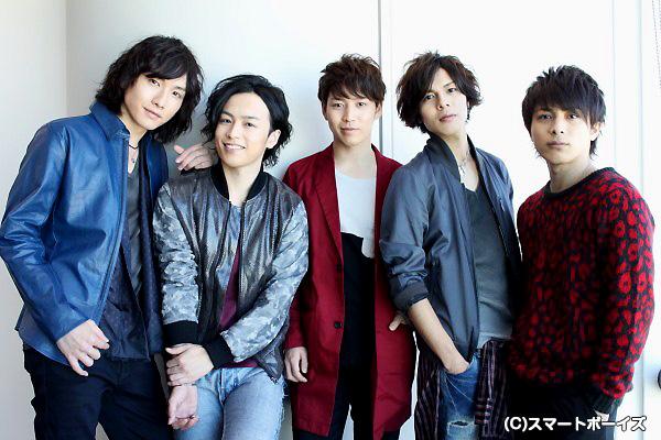 (写真左より)細貝圭さん、鈴木勝吾さん、鎌苅健太さん、井出卓也さん、米原幸佑さん