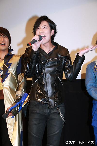 初めてファンとイアンの名台詞「オーマイ」を披露した斉藤さん