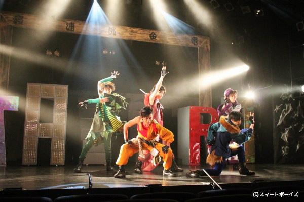 """桃太郎、浦島太郎、金太郎、三年寝太郎、竜の子太郎が""""真のヒーロー""""になるため戦う!"""