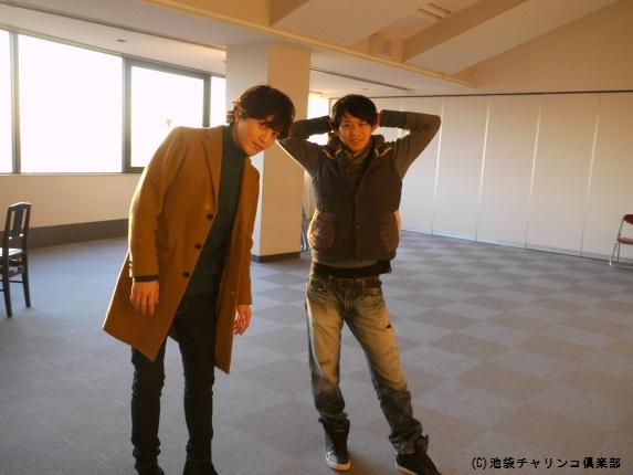 塩澤英真と末野卓磨(右)