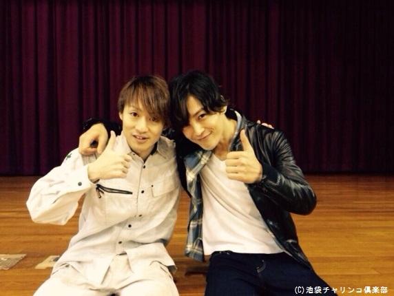 塩澤英真と八戸亮(左)