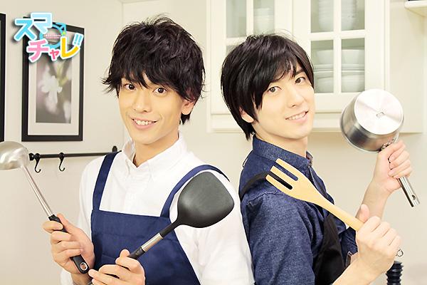 黒羽麻璃央さん(左)と山本一慶さん