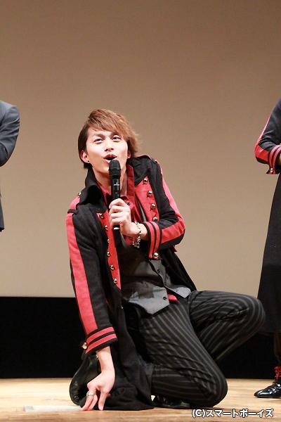 小林さんは佃井さんのセクシーなモノマネを披露