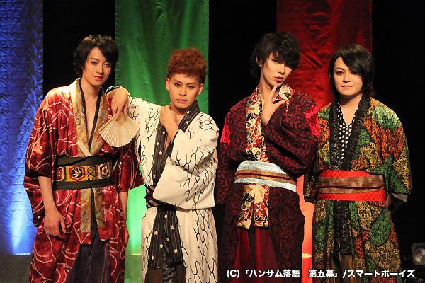 (写真左より)吉田友一さん、林 明寛さん、小谷嘉一さん、宮下雄也さん