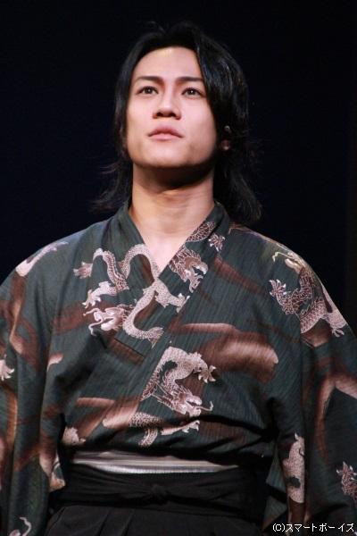 剣武会「万人斬り」・藤原唐志郎役の真佐夫
