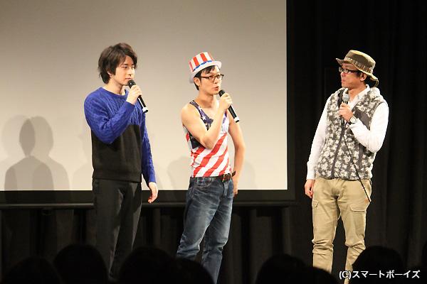 撮影を担当した松岡ディレクターも加わり、珍道中の模様が語られました☆
