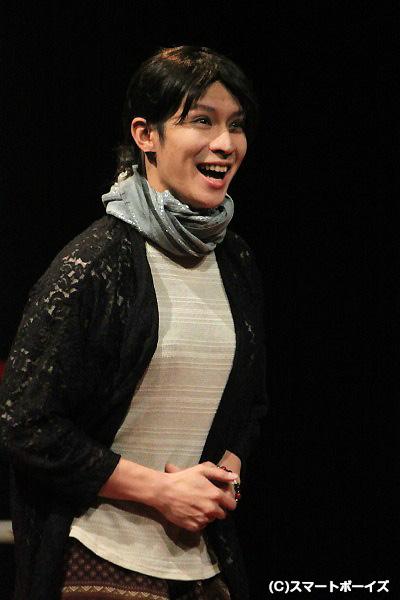 風間由次郎さんが演じるお母さんは、天然癒し系(笑)?