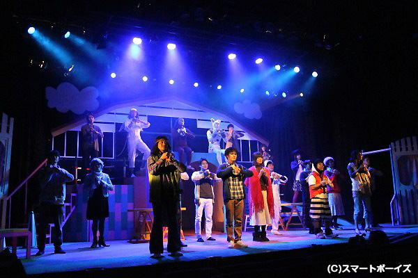 笑って泣ける、劇団プレステージの魅力がギュギュっと詰め込まれた感動作!
