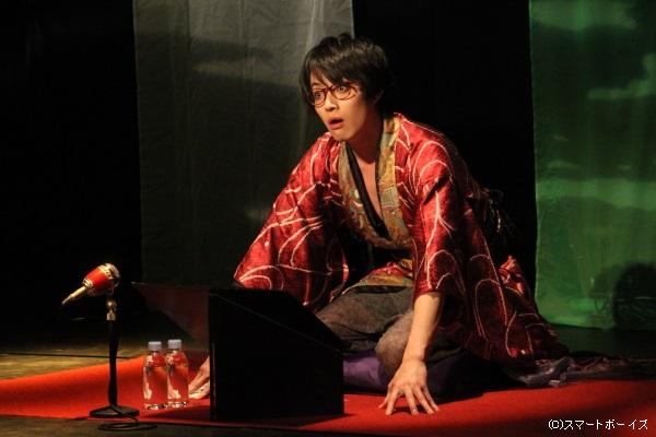 飄々とした雰囲気と大人の色気で観客の視線をクギ付けにしていた吉田さん