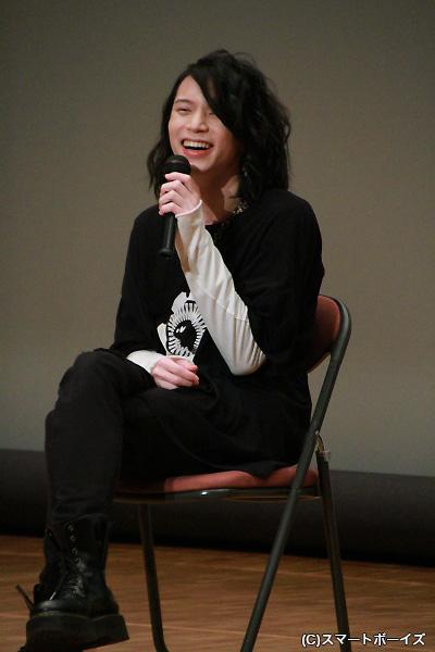 トークショーでの北村さんは終始笑顔でした