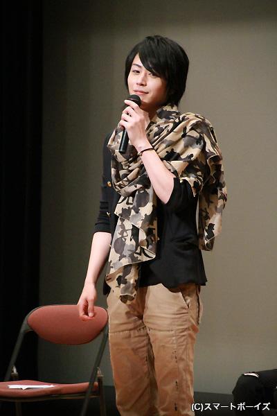 脈絡のないトークで爆笑を誘った廣瀬さん