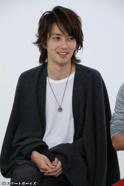仮面ライダーブレイド/剣崎一真役の椿隆之さん
