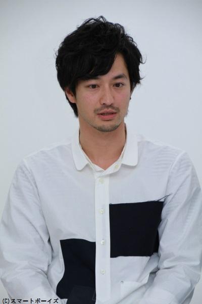 白井虎太郎役の竹財輝之助さん