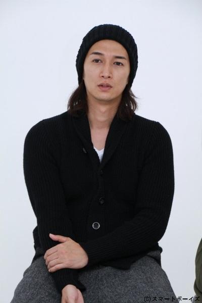 仮面ライダーギャレン/橘朔也役の天野浩成さん