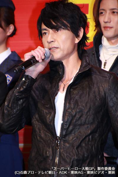 仮面ライダーブラック/南光太郎役の倉田てつをさん