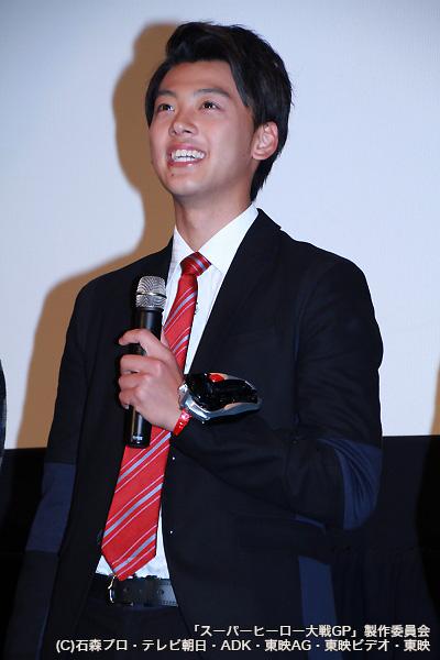 仮面ライダー好きを公言する竹内さん。一番好きな仮面ライダーは「仮面ライダー555/ファイズ」!