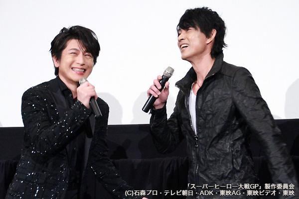 劇中では共演がなかった倉田さんと及川さん。この2ショットは貴重です