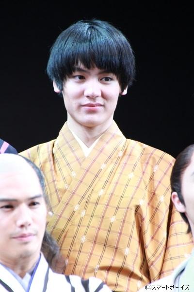 継之助の従者・木川松蔵役の阿久津愼太郎さん