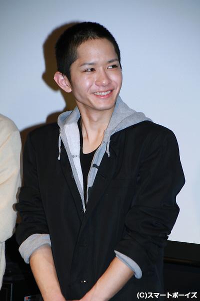役作りのため短髪姿で登場した千大佑(ちだい ゆう)さん。4月に24歳ですがまるで高校生!