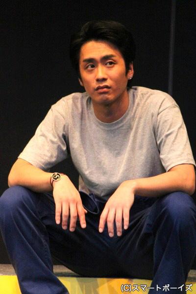 ヤス役の田中康寛さん